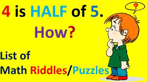 Brain Teasers Math Riddles Puzzles With Answers Easy Hard