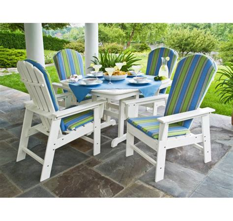 polywood south dining set 5 furniture for