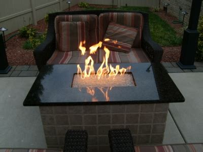 build gas fire table how to build a natural gas or propane outdoor fire pit