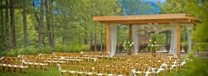 outside wedding venues stowe vermont wedding venues topnotch resort