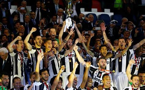 Juventus win Coppa Italia to keep treble dream alive ...