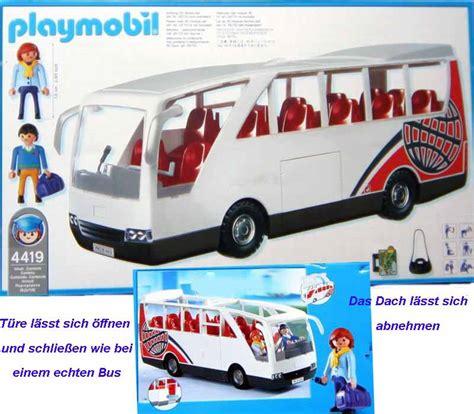 neu playmobil city  bus reisebus flughafen shuttle ebay