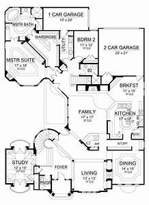 House, Plan, 5445, 00234, Luxury, 4, 394, Square, Feet, Simple