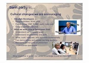 Bwin Party Services : the devops journey at ~ Markanthonyermac.com Haus und Dekorationen