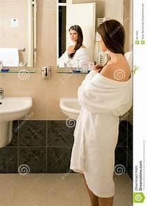 Girl in the bathroom stock photography image 9611852 for Girl in the bathroom pics