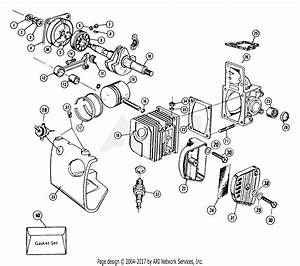 Poulan 306a Gas Chain Saw Parts Diagram For Engine