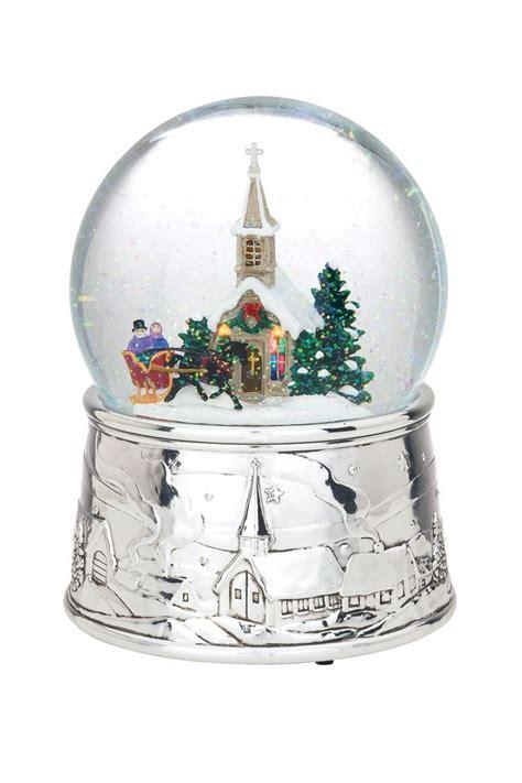 musical snow globes reed barton musical snow globes silent night snow wonderful winter
