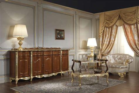 Arredamenti In Stile Classico mobili sala in stile classico luigi xv vimercati meda