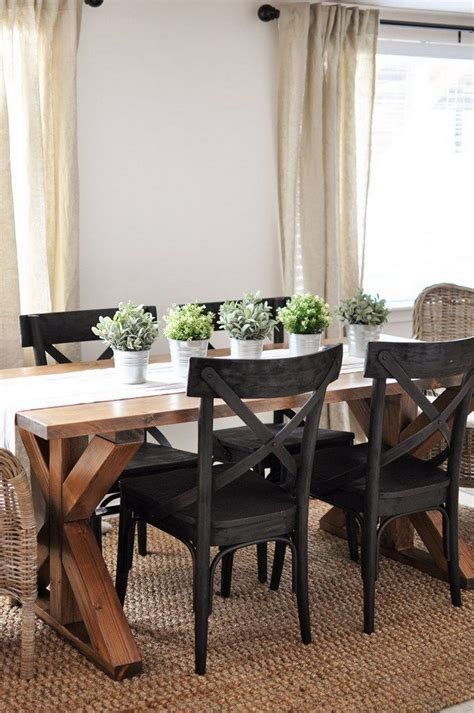 Modern Rustic Farmhouse Dining Room Style (8) Onechitecture