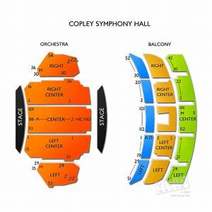San Diego Symphony Hall Seating Chart Copley Symphony Hall Tickets Copley Symphony Hall