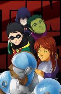 Teen Titans as Anime