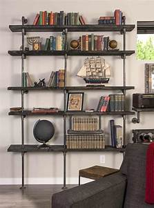 Diy, Industrial, Pipe, Shelving, On, A, Reasonable, Budget