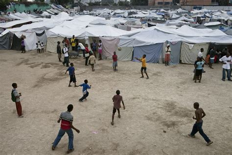 Lesson for kids, which will give you information about: Port Au Prince, Haiti - January 26, 2010 - Marco Di Lauro
