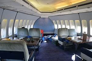 Image Gallery inside 747 aircraft