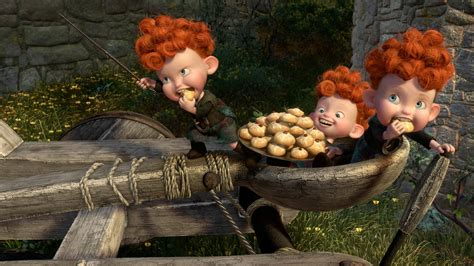 The Triplets -Brave [2] wallpaper - Cartoon wallpapers ...