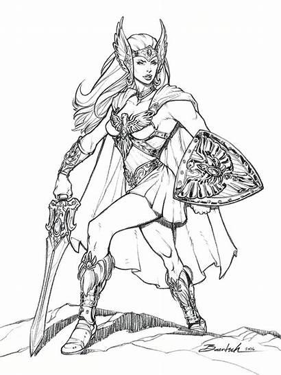 Ra He She Cartoon Princess Power Coloring