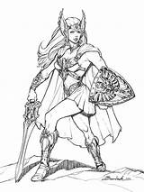 Ra He She Fan Comic Princess Power Cartoon Warrior Characters Community Character Coloring Pages Cartoons Adult Baena Books Colouring Drawing sketch template