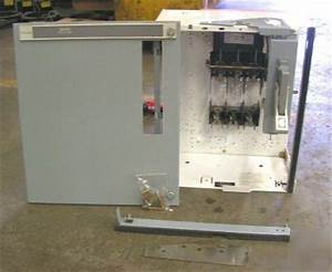 Siemens Fusible Mcc Bucket With Disconnect 100 A 3 Ph
