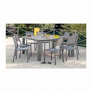 Table Carrée De Jardin : table de jardin carr e fiero 160 cm proloisirs ~ Melissatoandfro.com Idées de Décoration