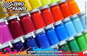 Car Paint Colors Chart Custom Paint Mixing Service 60ml Zp 1000 Zero Paints