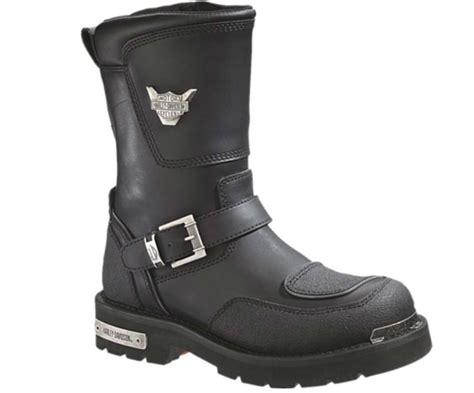 Motorcycle Boots : Harley-davidson Men's Shift Engineer Zip Black 9-inch