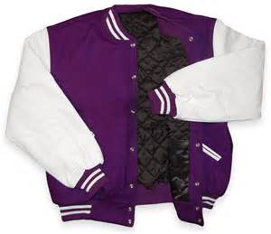 Purple Varsity Letterman Jacket