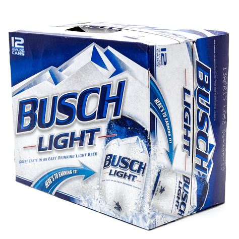 12 pack busch light busch light beer 12oz can 12 pack beer wine and