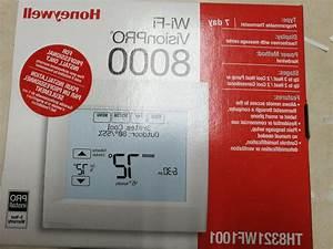 Honeywell Th8321wf1001 Wifi Visionpro 8000 Touchscreen