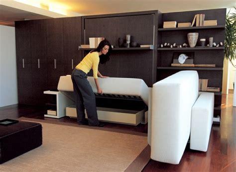 canapé lit petit espace lit gain de place et meubles pour aménagement petit espace