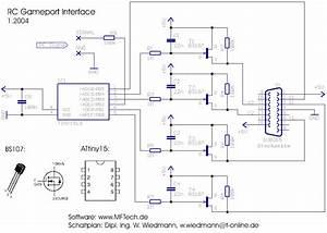 R  C Gameport Interface For Pc Model Flight Simulators