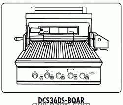 Dcs Grill Wiring Diagram : dcs dcs36ds bqar gas bbq grill parts free ship ~ A.2002-acura-tl-radio.info Haus und Dekorationen