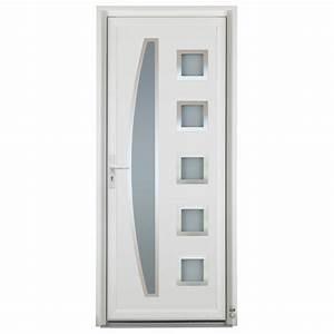Porte D39entre PVC Carat Pasquet Menuiseries