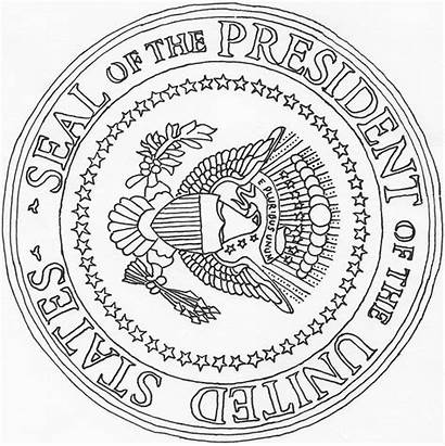 Seal Presidential Coloring Facts Presidents Fun Books