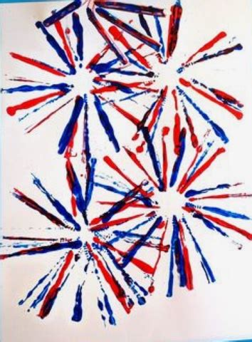 preschool ideas   year olds firework art fun
