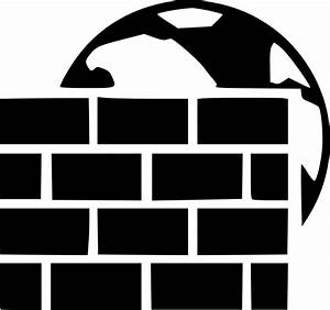 Windows Firewall Svg Png Icon Free Download   433519