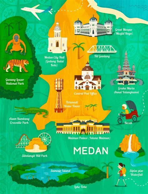 wesley robins map  medan indonesia  garuda