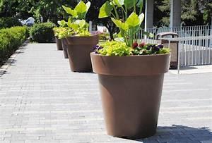 Gros Pot De Fleur : bacs jardini res et pots atech ~ Melissatoandfro.com Idées de Décoration