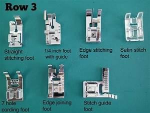Diystuffies  Sewing Machine Presser Foot Guide