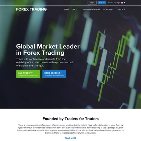 trading websites html website templates html css website templates