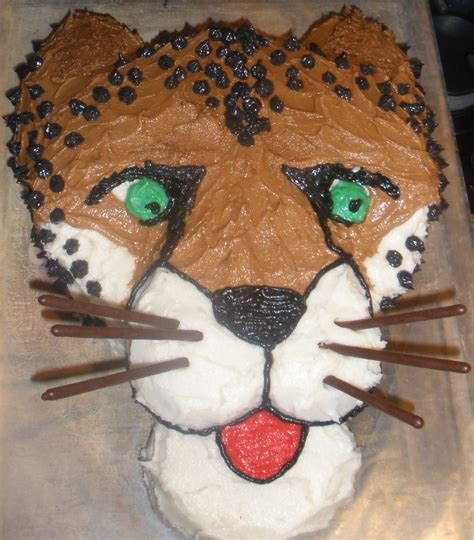 Cheetah Cakes De Ion  Ee  Ideas Ee   Little  Ee  Birthday Ee   Cakes