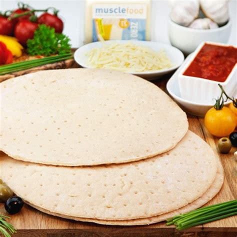 bases cuisine high protein gluten free pizza bases from food