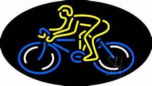 Bicycle Logo Flashing Neon Sign