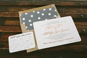 rose gold and gray wedding invitations bella figura With rose gold and gray wedding invitations