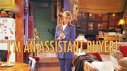 Rachel Assistant Buyer Friends Job Still Gets
