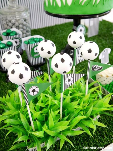 Soccer Decorations For Birthday Party  Home Party Ideas