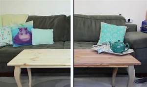 voici comment teindre un meuble en bois avec du vinaigre With teindre un meuble en pin