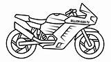 Motorcycle Bike Drawing Coloring Pages Sport Sports Clipart Street Getdrawings Drawings Paintingvalley Webstockreview sketch template
