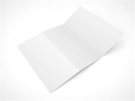 Tri Fold Outside Centre Panel Template Free 3 Panel Z Fold Brochure Psd Mockup Psd Mockups