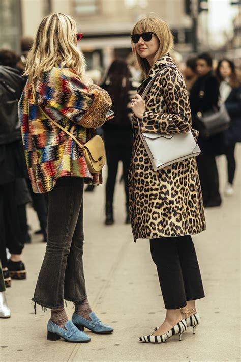 1/19 Street style tydzieu0144 mody w Nowym Jorku jesieu0144-zima 2018-2019 dzieu0144 7