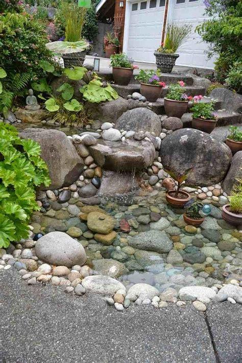 Garten Gestalten Steingarten by Einen Steingarten An Einem Hang Anlegen Und Mit Teich